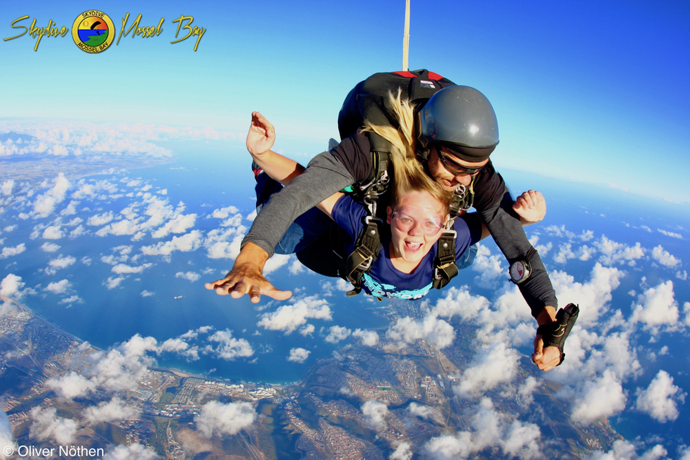 Skydive in Mossel Bay
