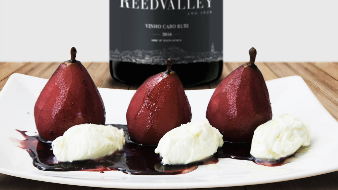 ReedValley's Rubi Poached Pears