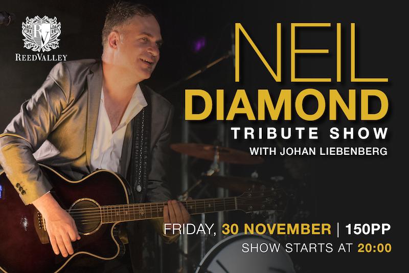 Best of Neil Diamond with Johan Liebenberg_Facebook Event2