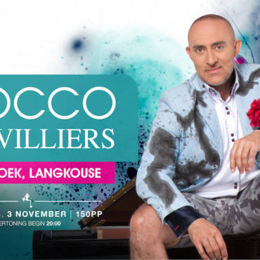 Rocco de Villiers – Kortbroek, Langkouse – Saterdag, 3 November