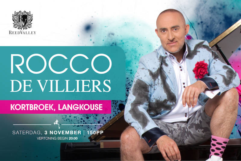 Rocco de Villiers - Kortbroek, Langkouse – Saterdag, 3 November _Website