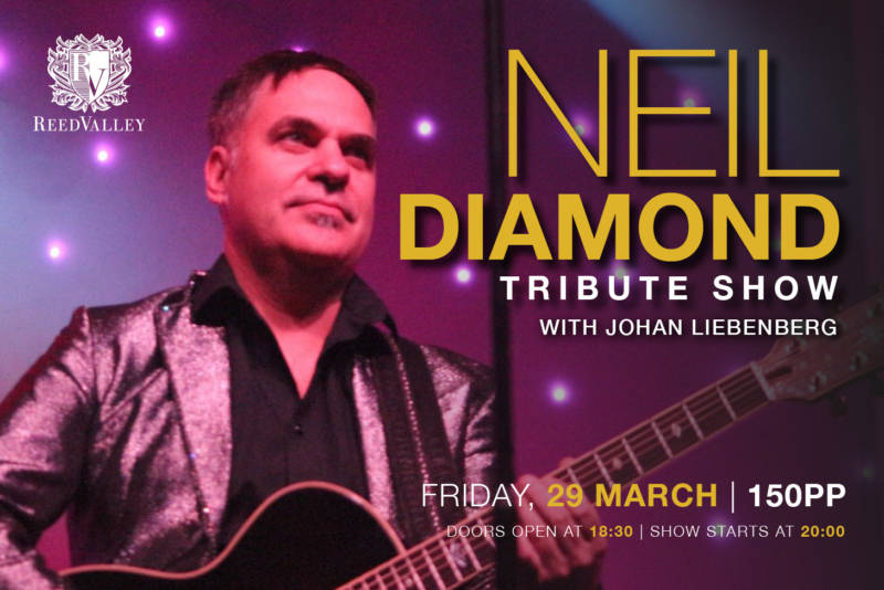 Neil Diamond Tribute Show with Johan Liebenberg _Website