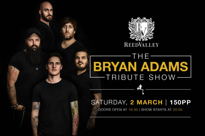 The Bryan Adams Tribute Show_Saturday, 2 March_For Website