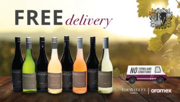 ReedValley offers free delivery of EdenValley wines