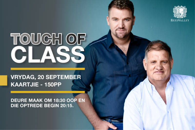 Touch of Class – Friday, 20 September_website